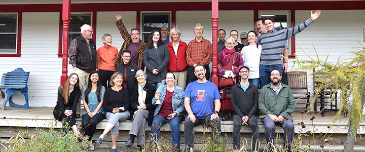 Community at Karme Choling Shambhala Meditation Center