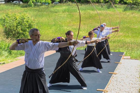 Kyudo at Karme Choling